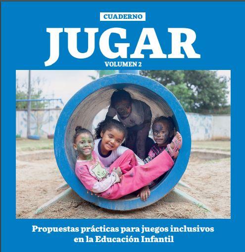 Capa do Caderno Brincar 2 em espanhol