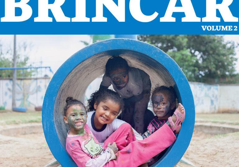 Capa do artigo Publicação apresenta experiência com brincadeiras inclusivas do Projeto Brincar