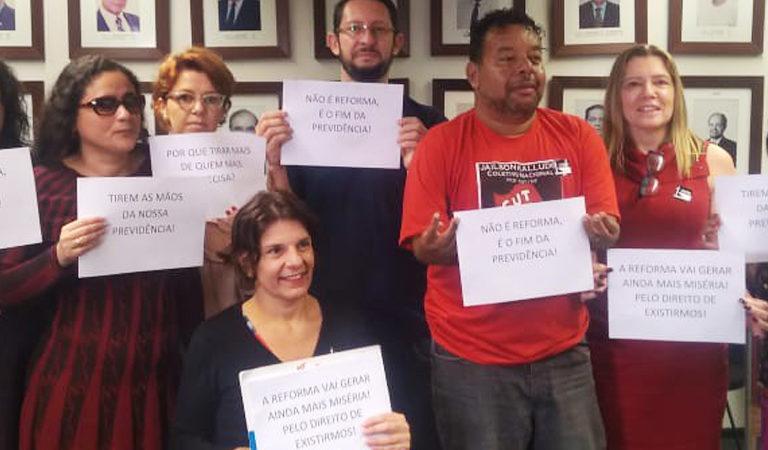 manifesto reforma da previdência direitos pessoas com deficiência
