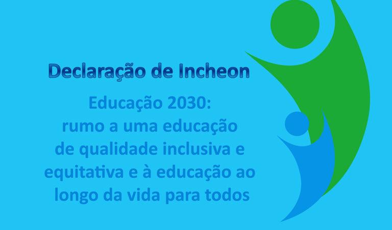 Capa do artigo Material acessível: Declaração de Incheon