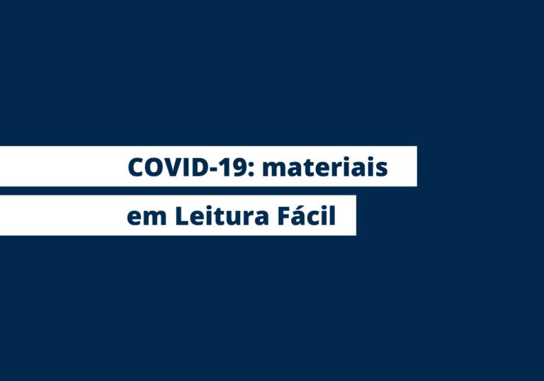 Capa do artigo Coronavírus: Mais Diferenças lança material com orientações em Leitura Fácil