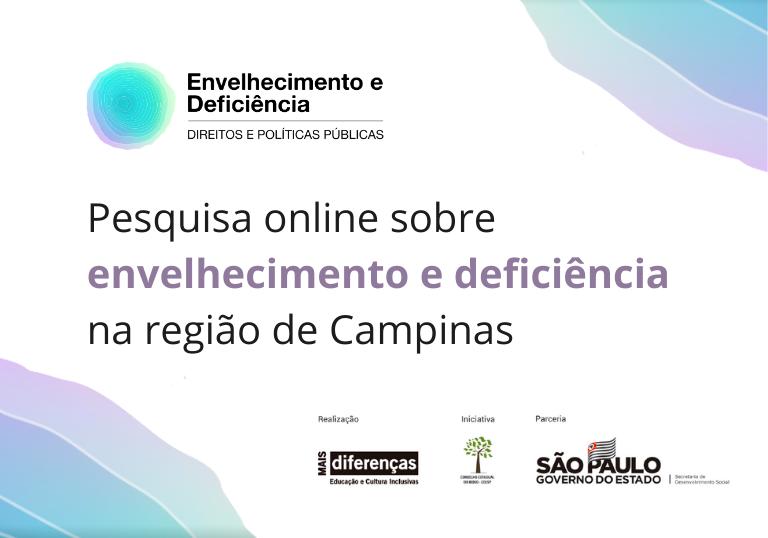 Capa do artigo Pesquisa online sobre envelhecimento e deficiência na região de Campinas