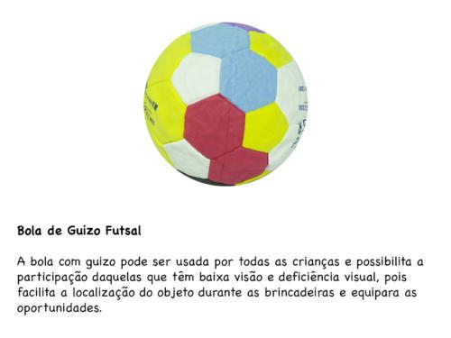 Bola de Guizo Futsal