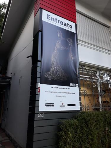 A Exposição Entreato ficou aberta ao público de 23 de fevereiro a 1 de julho de 2019