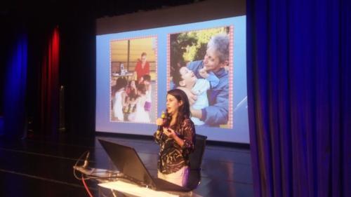 Rafale, da SME, contou sua experiência na promoção da educação inclusiva