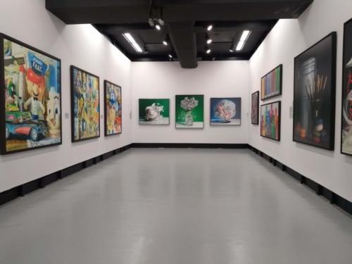 São pinturas, esculturas e obras de realidade virtual