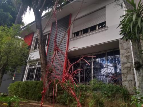 A Casa MD fica ao lado do estádio do Pacaembu
