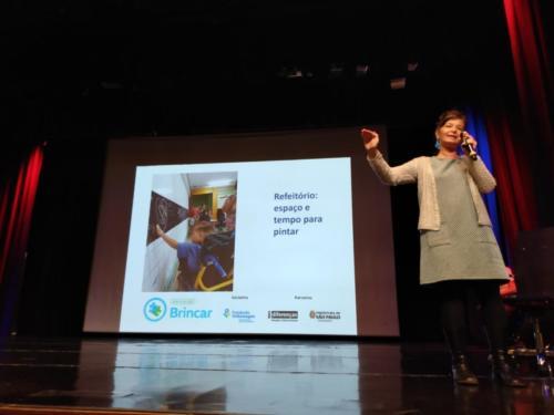 Apresentação sobre brincadeiras inclusivas na Educação Infantil