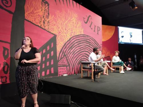 Conversa com Marcelo D´Salete e Marcela Cananeia e mediação de Adriana Couto