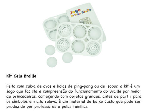 Kit Cela Braille
